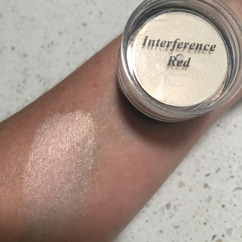 Amerikan Body Art Mica Powder INTERFERENCE RED