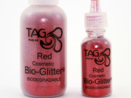 TAG cosmetic Bio Glitter RED
