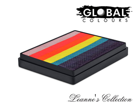 NEW!! Global Leanne's Tropical Butterfly Rainbow Cake 50gm