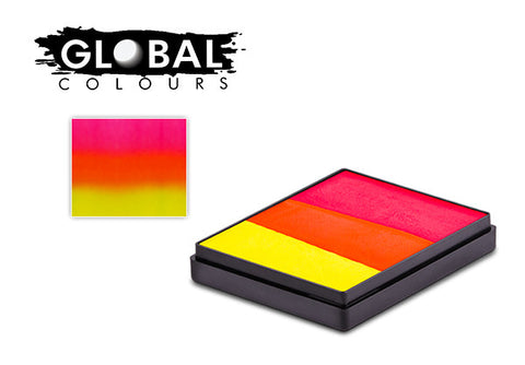 Global Rainbow Cake INDIA 50gm neon