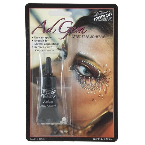 Mehron Adgem 3.5gm with 12 Rhinestones