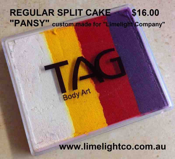 PANSY regular 50gm split cake