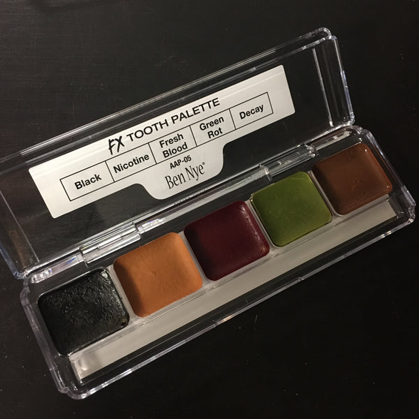 Ben Nye TOOTH FX Palette 5 colours 6gm