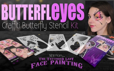 Lea Selley ButterflEYES 3 Stencils