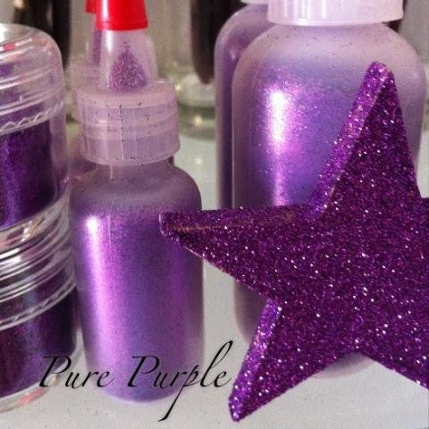Pure Purple Cosmetic Glitter