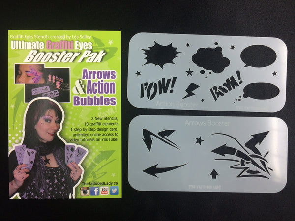 Lea Selley ARROWS and ACTION BUBBLES booster pack