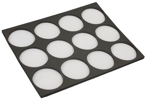 Tag case insert for 12 x 32gm TAG round cakes