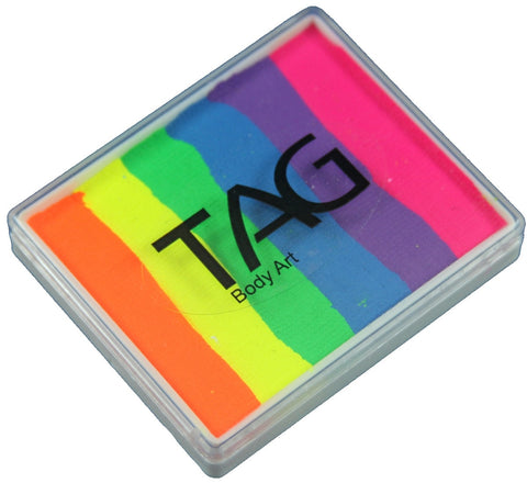 TAG NEON RAINBOW 50gm split cake