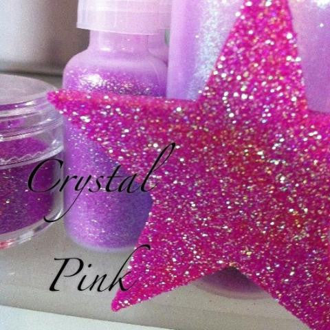 Crystal Pink Cosmetic Glitter
