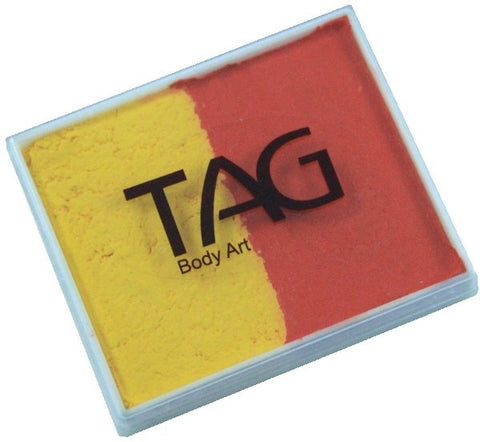 TAG 2 Colour Cakes 50gm Regular Orange and Yellow