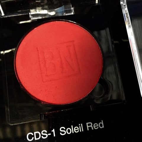 Ben Nye SOLEIL RED Pressed Powder Rouge