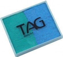 TAG 2 Colour Cakes Pearl Teal and Pearl Sky Blue