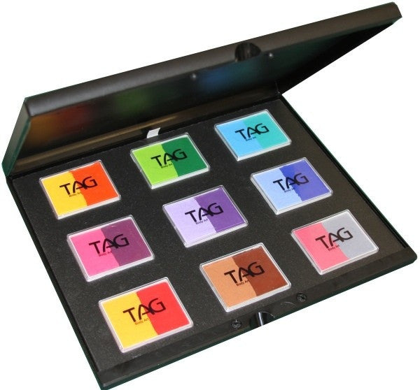 TAG 9 x 2 Colour Cakes Regular Palette