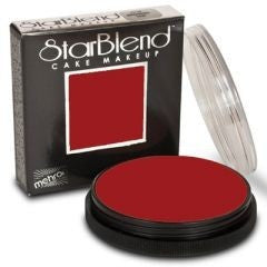 red starblend cake makeup by mehron 56gm
