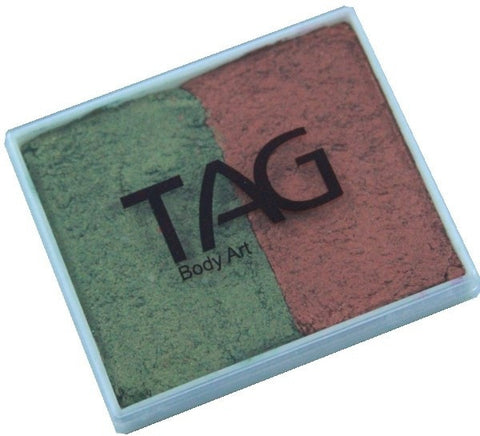 TAG 2 Colour Cakes Pearl Copper and Pearl Bronze Green
