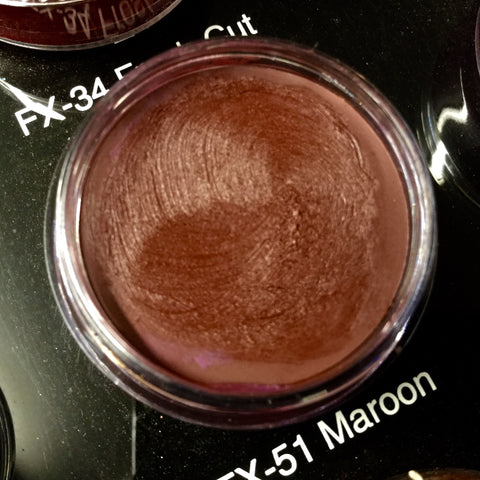 Ben Nye MAROON FX Creme Colour 8.5gm