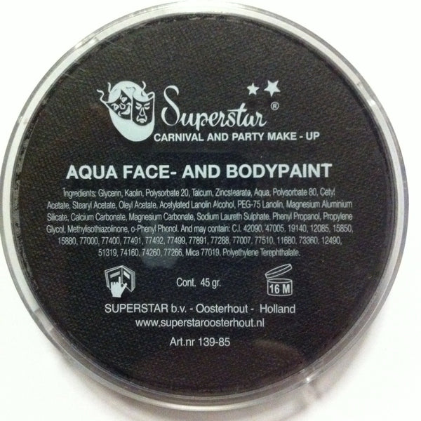 LINE BLACK 163 45gm Superstar face and body paint