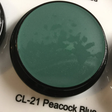 Ben Nye PEACOCK BLUE Creme Colours 7gm