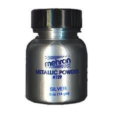 Mehron Metallic Powder SILVER