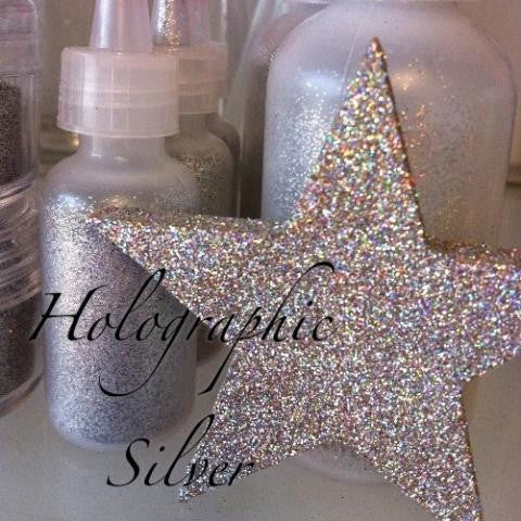 Holographic Silver Cosmetic Glitter