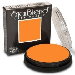 orange starblend cake makeup by mehron 56gm