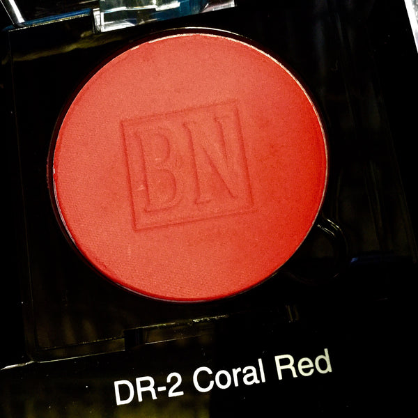 Ben Nye CORAL RED Pressed Powder Rouge