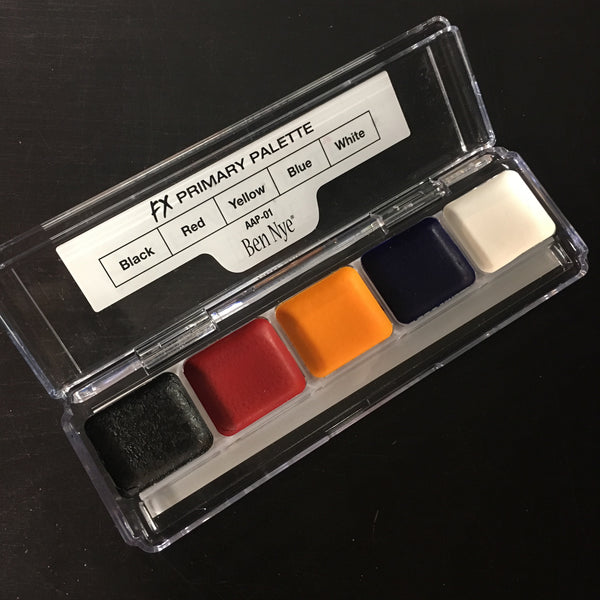 Ben Nye PRIMARY FX Palette 5 colours 3.5gm