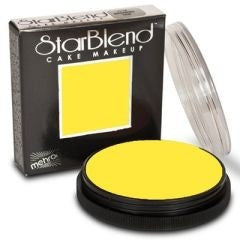 yellow starblend cake makeup by mehron 56gm