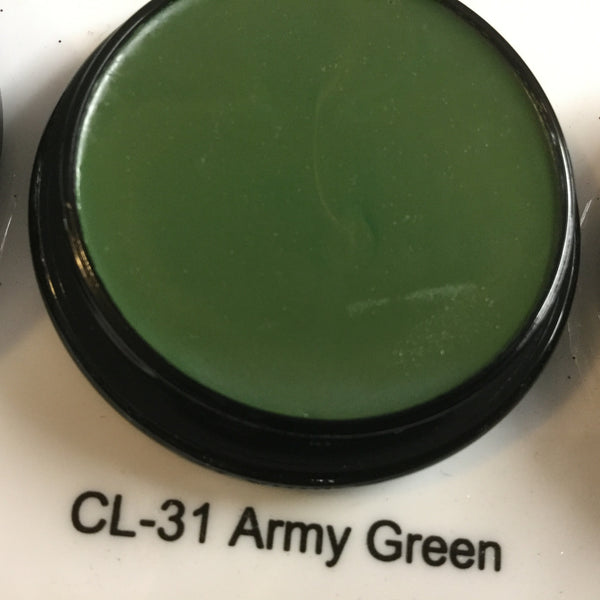 Ben Nye ARMY GREEN Creme Colours 7gm