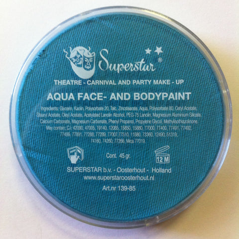 AQUA MINTY 215 45gm Superstar face and body paint