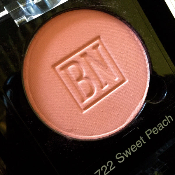 Ben Nye SWEET PEACH Pressed Powder Rouge