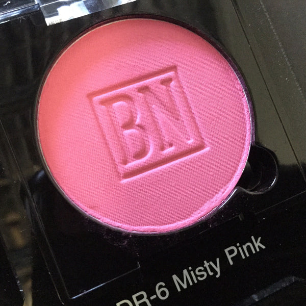 Ben Nye MISTY PINK Pressed Powder Rouge