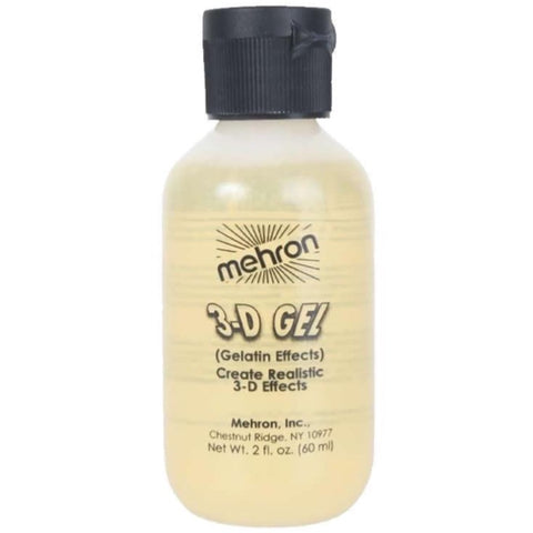 Mehron CLEAR 3D Gel Gelatin Effects 60ml
