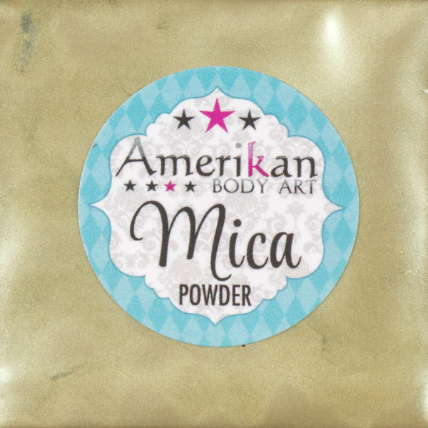 Amerikan Body Art Mica Powder SAGE ADVICE