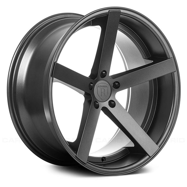 Rohana RC22 Matte Graphite (Staggered)