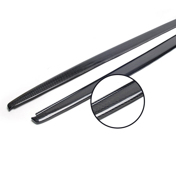 CF Side Skirt Extension Panel for F30
