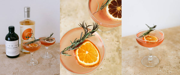 Our  Best Beauty Cocktail Recipe with Imbibe Living and Brookie's Gin