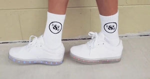Ollie Crew Socks (White)