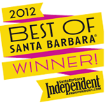 2012 Best of Santa Barbara Winner Independent