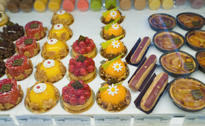assorted small individual cakes