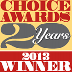 Readers Choice Awards 2013 Winner 20 Years