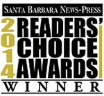 Santa Barbara News-Press 2014 Readers Choice Awards Winner