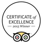 Certificate of Excellence 2015 Winner