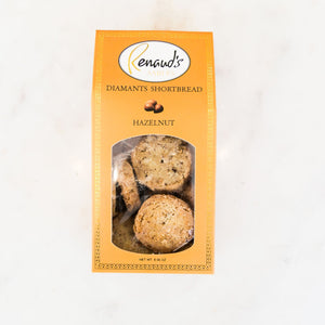 Hazelnut Sable Diamant shortbread cookie