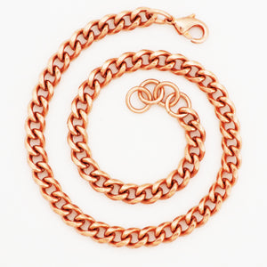 copper anklets in a variety of sizes and styles