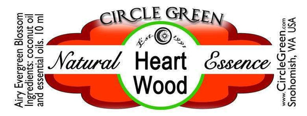 Heart Wood Aromatic Oil Roll On Earthy Floral Roll-on Cedar Forest Scented Essential Oil Blend celtic-copper-jewelry.myshopify.com