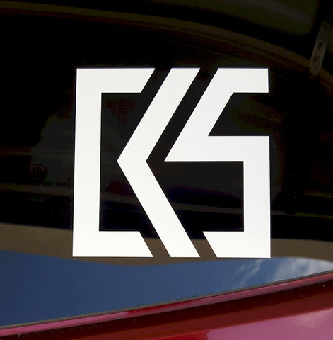 CK5 Cut Vinyl Edge Logo Sticker