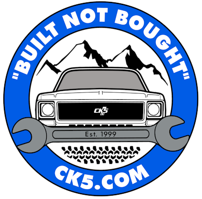 CK5 Wrench Logo Sticker