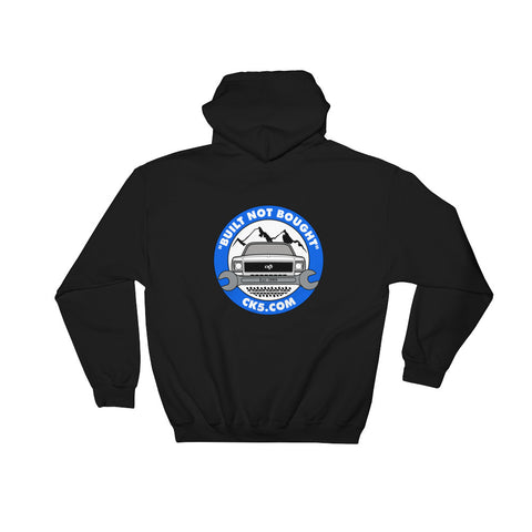 CK5 Wrench Hooded Sweatshirt (front & back graphic)