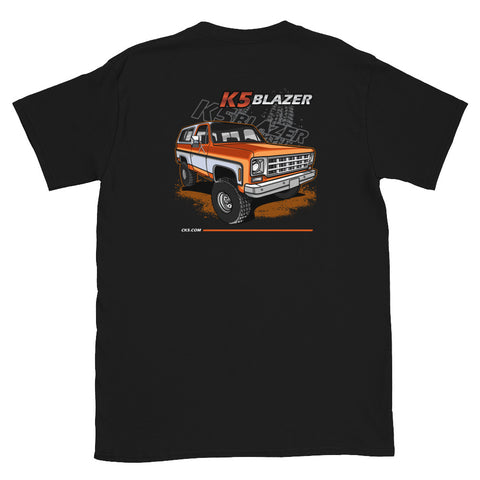 CK5 1973-79 K5 Blazer T-Shirt (two sided design)
